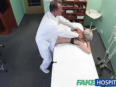 Fakehospital blonde tattoo babe fucked hard by her doctor tubes