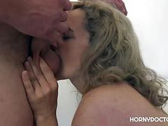 Horny doctor takes care of ameli videos