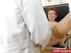 Madam gyno in addition to a redhead bitch videos