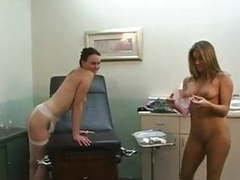 Lesbian nurse (estefania) movies at find-best-panties.com