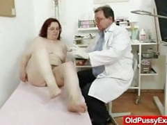 Hairy grandma enema during a medical exam videos