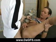 Horny milf loves medical role play clip
