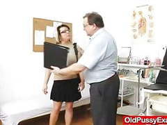 Huge natural melon size breasts at obgyn gynecologist movies at find-best-lingerie.com