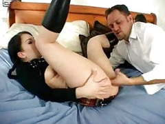 Goth escort banged like a bitch movies at freekiloporn.com