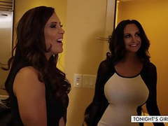 Ava addams & francesca le big tit milf threesome movies at kilopics.net