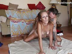 Hypsersexual stripper mom satisfies son movies at find-best-hardcore.com