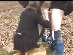 Dogging - wife in forest movies at kilopills.com