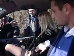 Dogging - bella teasing a strangers movies at find-best-lingerie.com