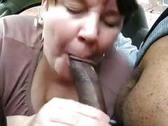 Chubby mature gives this black guy a nice blowjob movies at find-best-babes.com