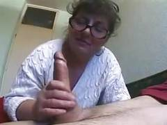 Granny bbw with glasses well fucked videos