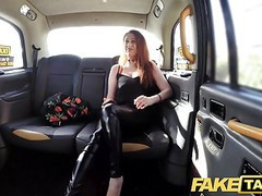 Fake taxi curvy big tits with ginger bush pussy wants cock tubes
