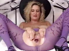 Bizarre samantha halloween apple trick movies