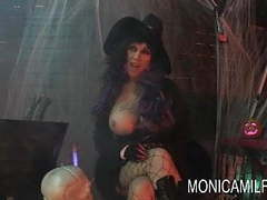 Halloween in norway with monicamilf videos