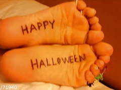 Halloween feet soles & toe rings movies