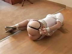 Housewife cleave gagged and hogtied videos