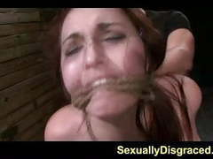 Bound for submission stella may orgasms on a huge dick videos