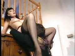 Horny milf in black stockings movies at find-best-ass.com