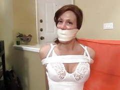 Slim mature hogtied videos
