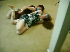 Two girls wake up hogtied videos