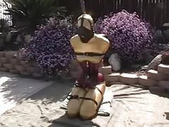 Catsuit bondage videos