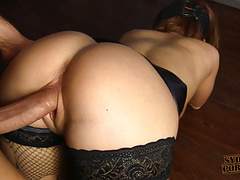 Tied and caged, rough doggystyle fuck! videos