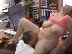 Sexy german bbw gets fucked at job interview tubes