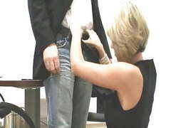 German blonde fucks at job interview movies at kilovideos.com