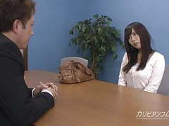 Job interview leads sucking a cock tubes