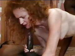 English red headed screamer fucks two black cocks-f70 movies at find-best-hardcore.com