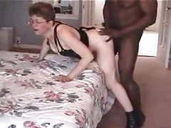 Granny loves black cock tubes