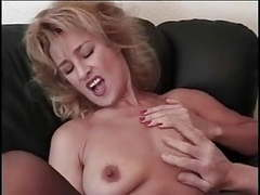 Very attractive blonde milf with big nipples videos