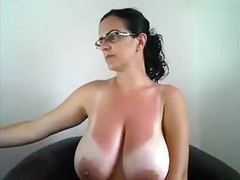 Beautiful tanlines on this milf videos