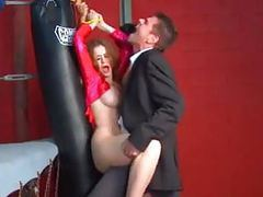 Emily addison and paris kennedy get fucked in a fightclub videos