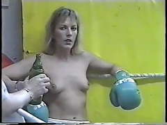 Real topless boxing videos
