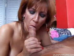 Saucy old spunker loves to fuck and swallow cum tubes
