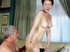 Sexy old spunker is a super hot fuck and loves facials videos