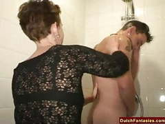 Ugly dutch granny fucks office boy movies