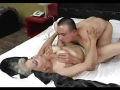 Silver hair cougar with young friend movies at kilotop.com