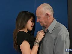 The return of grandpa's huge dick movies at freekiloclips.com