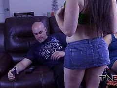 Big tits melanie hicks in daughter fucks dad while mom out videos