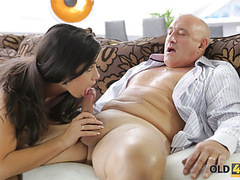 Old4k. rough sex for stunning latina babe. movies at freekiloclips.com