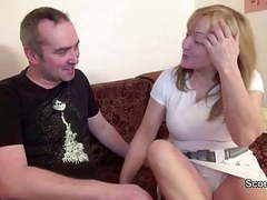 German mom and dad in privat porn casting tubes