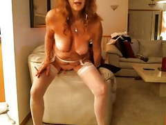 Very hot elderly couple tubes
