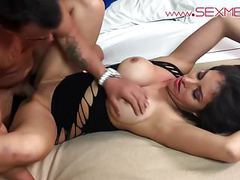 Silvia santez smokin hot latina fucks a guy from expo movies at nastyadult.info