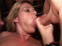 Cunt pierced blonde gets multiple cumshots - p2 tubes