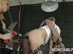 Hot pegging and ass drilling by norwegian monicamilf movies at kilopics.net