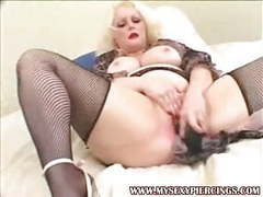Pierced and tattooed bbw blonde fucked in all holes videos