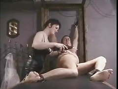 Electro torture for slave movies at kilovideos.com