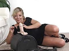 Mature tries it first time movies at kilovideos.com