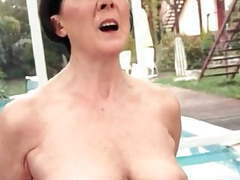 Freaks of nature 195 chubby grandma rides sybian movies at find-best-pussy.com